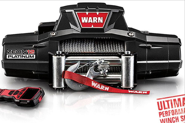 WARN Jeep, Truck & SUV Winches: ZEON 12 Platinum 92820 - BumperOnly