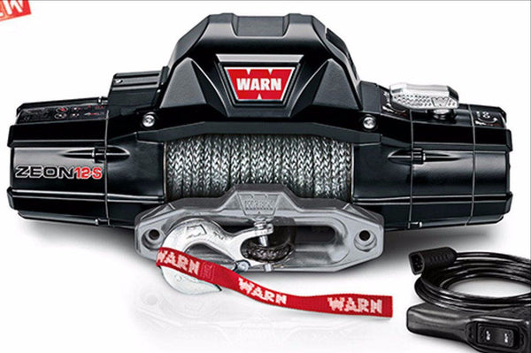 WARN Jeep, Truck & SUV Winches: ZEON 12-S 95950 - BumperOnly