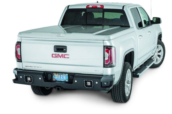 WARN Ascent 2014-2016 GMC Sierra 1500 Rear Bumper 96550 - BumperOnly