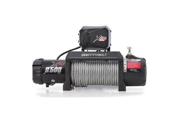 smittybilt 9500 lbs gen 2 xrc waterproof wire rope winch 97495. Black Bedroom Furniture Sets. Home Design Ideas