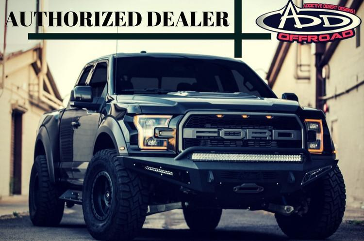 Addictive Desert Designs F1503492360103 Stealth Front Bumper for Chevy Tahoe//Suburban//Avalanche