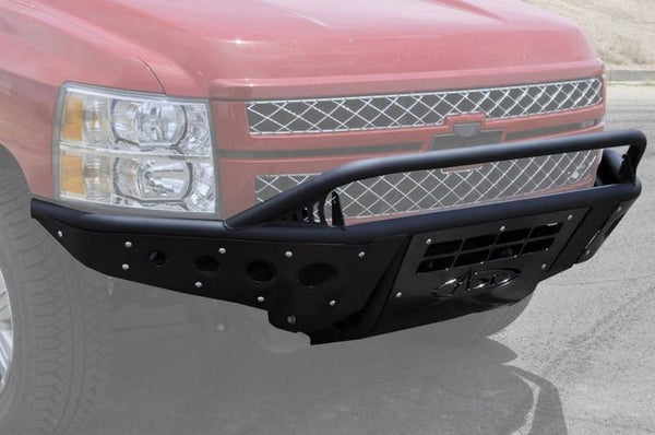 ADD F302972680103 Chevy Silverado 1500 2007-2013 Stealth Front Bumper W/ Light Mounts - BumperOnly