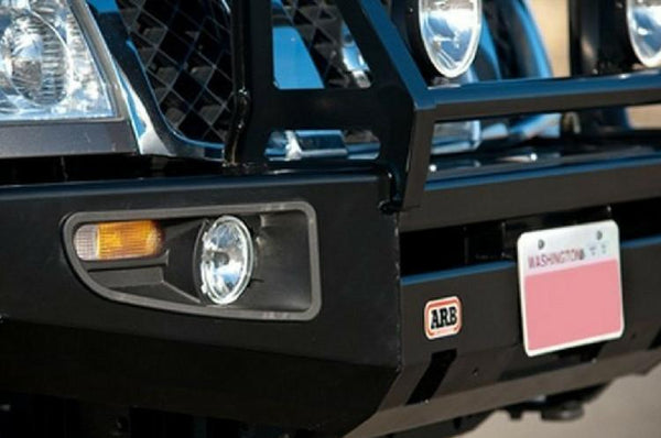 ARB Nissan Titan 2004-2010 Front Bumper Winch Ready with Grille Guard, Black Powder Coat Finish 3464010