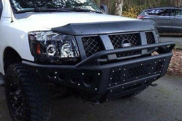 ADD F902942390103 2004-2014 Nissan Titan Stealth Front Bumper W/Light Mounts - BumperOnly