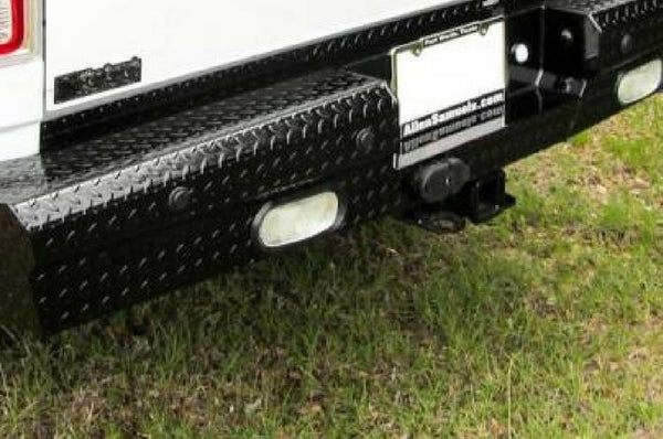 American Built Dodge Ram 2500/3500 2010-2013 Rear Bumper with Back-up Sensors RD223102