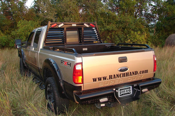 Ranch Hand Legend Rear Bumper Ford F250/F350 Superduty BBF080BLSL 2008-2015 - BumperOnly