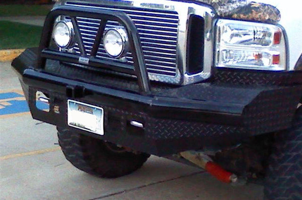 Ranch Hand BTF051BLR 2005-2007 Ford Excursion Legend BullNose Series Front Bumper