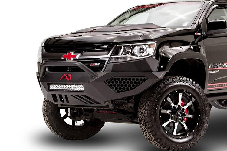 Fab Fours CC15-D3352-1 Chevy Colorado 2015-2019 Vengeance Front Bumper with  Pre-Runner Guard (Does not fit Chevy Colorado ZR2)