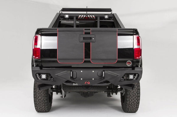 Fab Fours Vengeance Rear Bumper GMC Canyon CC15-E3351-1 2015-2016