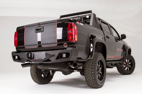 Fab Fours Vengeance Rear Bumper Chevy Colorado CC15-E3351-1 2015-2016