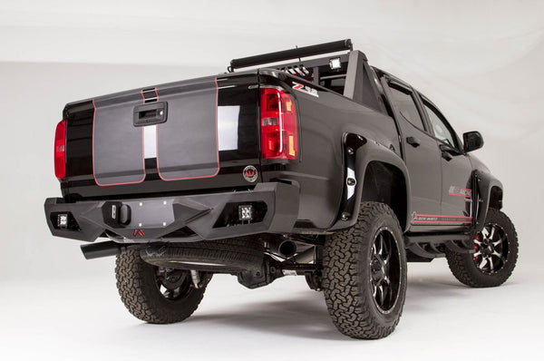Fab Fours Vengeance Rear Bumper GMC Canyon CC15-E3351-1 2015-20161-1 - BumperOnly