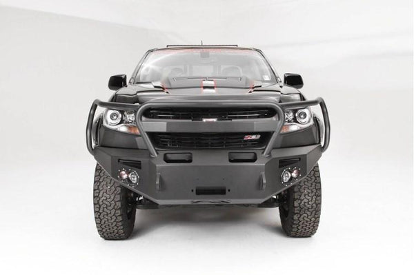 Fab Fours CC15-H3350-1 Chevy Colorado 2015-2019 Premium Front Bumper Winch Ready with Full Guard (Does not fit Chevy Colorado ZR2)
