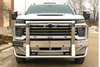 Ali Arc Aluminum Chevy Silverado 2500/3500 2020-2021 Front Bumper With Rake and Sensor CHR195S