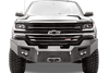 Fab Fours CS07-H2051-1 Front Bumper Chevy Silverado 1500 2007-2013 Winch Ready No Guard Premium