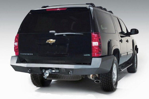 Fab Fours Chevy Tahoe and Suburban 2007-2014 Rear Bumper CS07-W2250-1