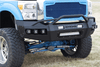 Iron Cross 62-425-11 Ford F250/F350 Superduty 2011-2016 Hardline Front Bumper With Push Bar