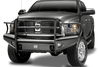 Fab Fours DR03-Q1060-1 Front Bumper Dodge Ram 2500/3500 2003-2005 Full Guard with Tow Hooks Black Steel Elite