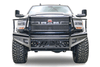 Fab Fours DR03-S1060-1 Dodge Ram 2500/3500 2003-2005 Black Steel Front Bumper Full Guard