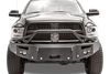 FabFours PREMIUM Pre-Runner Truck Front Bumper 2016 DODGE 2500-5500 DR16-C4052-1 - BumperOnly