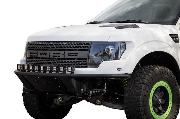 ADD F013832940103 Ford F150 Raptor 2010-2014 ADD Lite Front Bumper with 10 Dually Mounts Hammer Black - BumperOnly