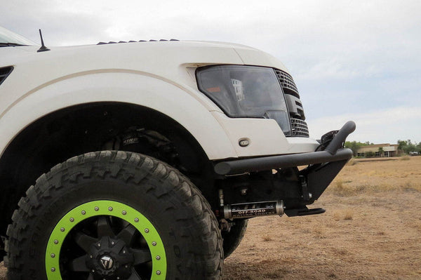 ADD F013842940103 Ford F150 Raptor 2010-2014 ADD Lite Front Bumper W/ Top Hoop Hammer Black - BumperOnly