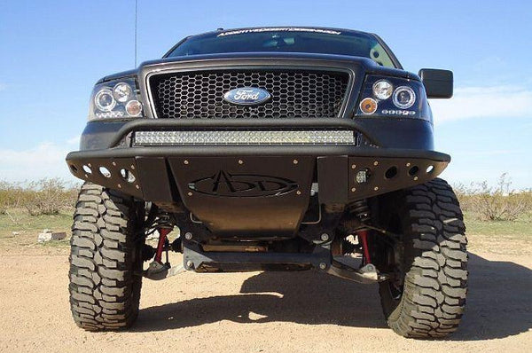 ADD F032892450103 2004 - 2008 Ford F-150 Stealth Front Bumper With Light Mount - BumperOnly
