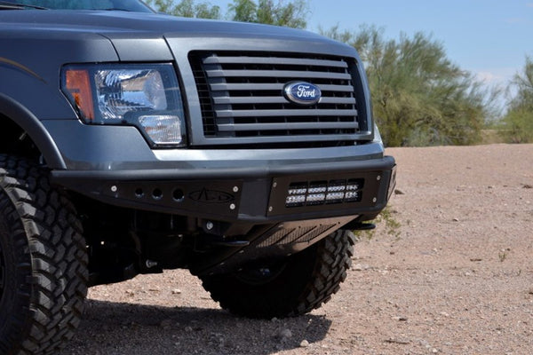 ADD F052001250103 Ford F-150 2009-2014 Venom Front Bumper With Lower Light Mount - BumperOnly