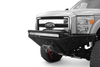 ADD F062932680103 2011-2016 Ford F250/F350 Superduty Stealth Front Bumper with Stealth Panels, Winch and Light Mounts