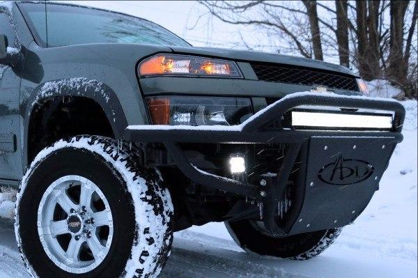 ADD F1303962340103 Chevy Colorado 2004-2012 Stealth Front Bumper W/Light Mounts - BumperOnly