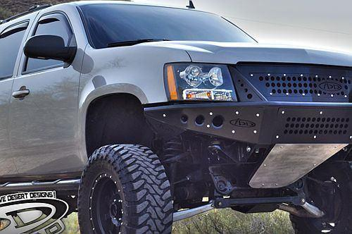 ADD F1503452580103 Chevy Avalanche 2007-2013 Stealth Front Bumper W/ Integrated Grille - BumperOnly