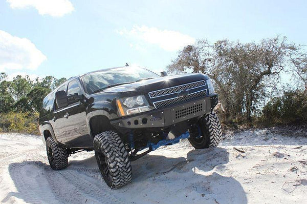 ADD F1503492360103 Chevy Avalanche 2007-2013 Stealth Front Bumper W/Light Mounts - BumperOnly