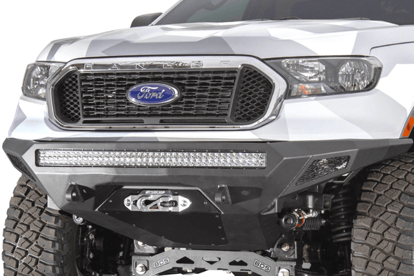 ADD F221423030103 Ford Ranger 2019-2021 Stealth Fighter Front Bumper Winch Ready With Sensor Cutouts