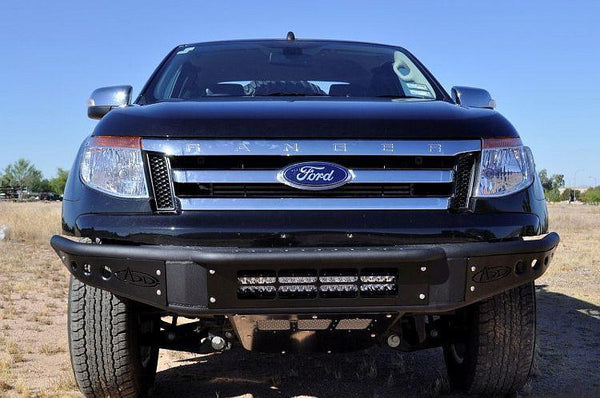 ADD F252101250103 2011 - 2016 Ford Ranger T6 Venom Front Bumper With Light Bar Mount - BumperOnly