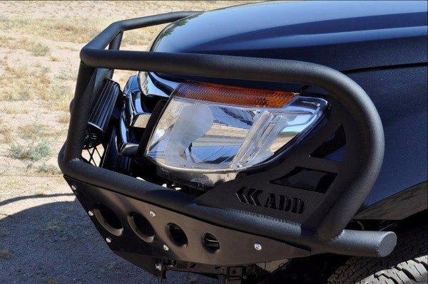 ADD F252662650103 2011 - 2016 Ford Ranger T6 Rancher Front Bumper With Light Mounts In Skid And Transmission Vent In Skid Plate - BumperOnly