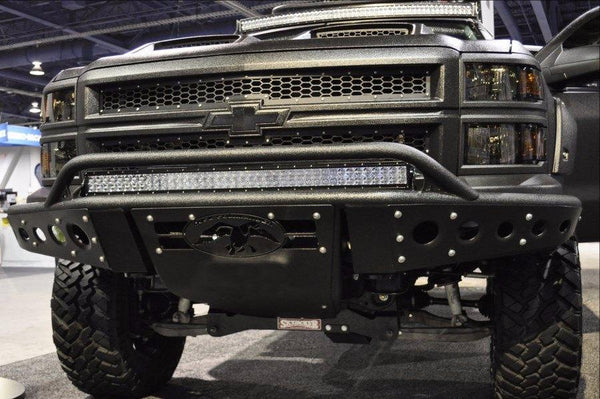 ADD F282892680103 Chevy Silverado 1500 2014-2015 Stealth Front Bumper W/ Light Mounts - BumperOnly