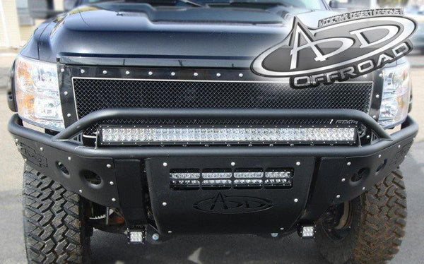 ADD F292972480103 Chevy Silverado 2500/3500 2011-2014 Hd Stealth Front Bumper W/Light Mounts - BumperOnly