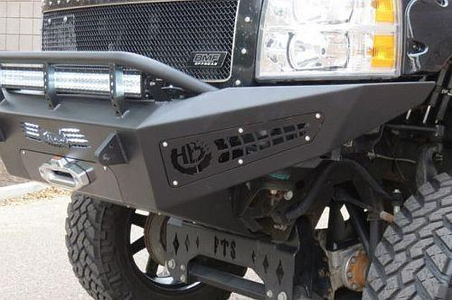 ADD F317315000103 Chevy Silverado 2500 2007-2010 Honeybadger Front Bumper W/Light Mounts - BumperOnly