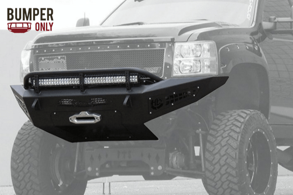 ADD F317355000103 Chevy Silverado 2500/3500 2007-2010 Honeybadger Front Bumper with Winch Mount
