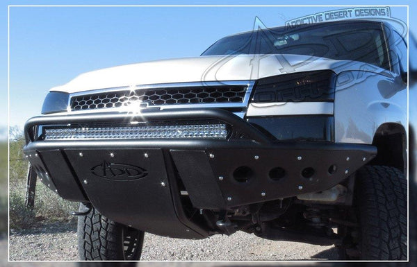 ADD F323182410103 Chevy Silverado 1500 2003-2007 Stealth Front Bumper W/ Light Mounts - BumperOnly