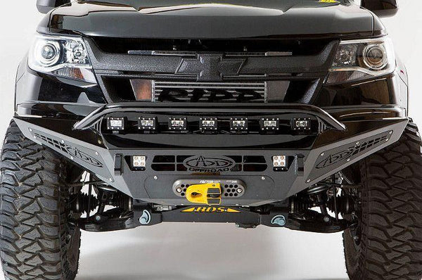 ADD F357382720103 Chevy Colorado 2015-2020 Honeybadger Front Bumper with Winch Mount (Does not fit Chevy Colorado ZR2)