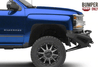 ADD F367382840103 Chevy Silverado 1500 2016-2018 Honeybadger Front Bumper with Winch Mount