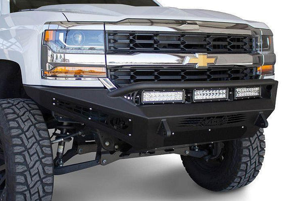 ADD F367412840103 Chevy Silverado 1500 2016-Up Honeybadger Front Bumper - BumperOnly