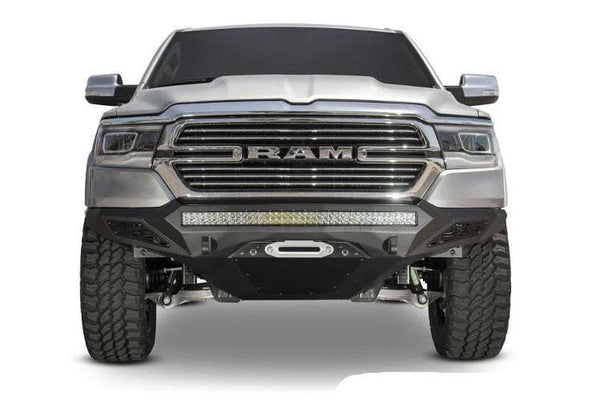 ADD F551422770103 Dodge Ram 1500 2019-2021 Stealth Fighter Front Bumper with Sensor Cutouts Winch Ready