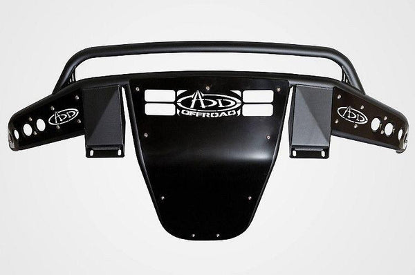 ADD F603792870103 2015-2016 Ram 1500 Rebel Stealth R Front Bumper W/Top and Side Light Mounts - BumperOnly