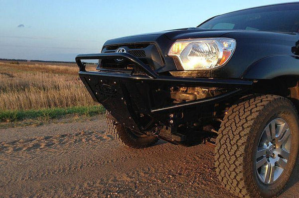 ADD F693231200103 2005 - 2015 Toyota Tacoma Stealth Front Bumper Top Light Mount - BumperOnly