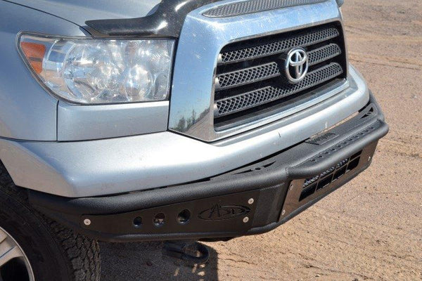 ADD F752001250103 2007 - 2013 Toyota Tundra Venom Front Bumper With Light Mount - BumperOnly
