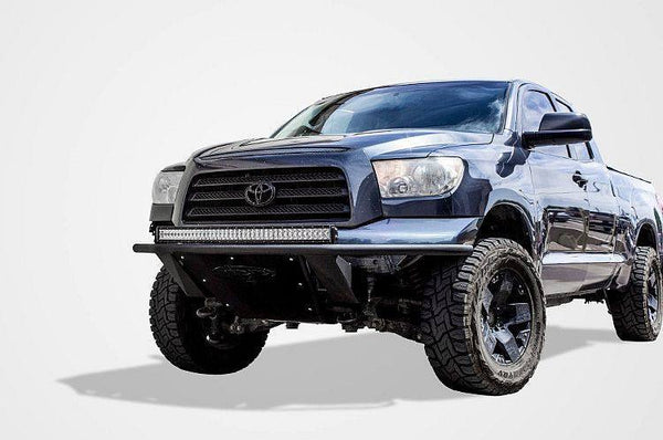 ADD F753832940103 2007 - 2013 Toyota Tundra ADD Lite Front Bumper With Light Mounts - BumperOnly
