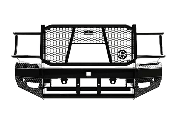 Ranch Hand FBD195BLRC Dodge Ram 2500/3500 2019-2021 Sport Series Front Bumper Winch Ready & Sensors with Grille Guard