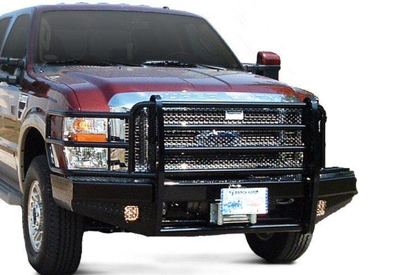 Ranch Hand Sport Winch Front Bumper Ford F250/F350 Superduty FBF085BLR 2008-2010 - BumperOnly