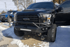 Fab Fours FF09-D1952-1 Ford F150 2009-2014 Vengeance Front Bumper with Pre-Runner Guard